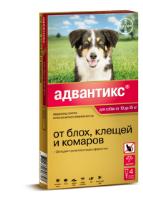 Адвантикс для собак от 10-25кг раствор КАПЛИ на холку пипетка 2.5 мл